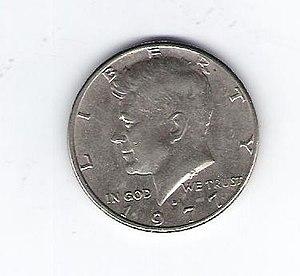 Moneda de 50 centavos de dolar