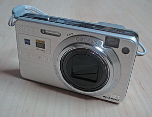 My DSC-W170 digital camera