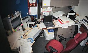 A typical North American office