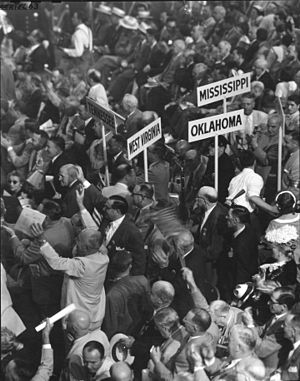 Attendees at the 1952 Republican National Conv...