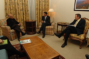 Dr. Rajiv Shah, Administrator of the United St...