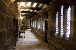 Interior of Chetham's College