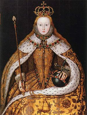 Queen Elizabeth I, coronation portrait