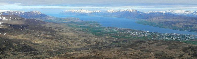 Eyjafjörður in summer