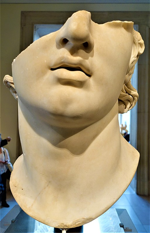 Fragmentary colossal head of a youth - MET - Metropolitan Museum of Art - Joy of Museums