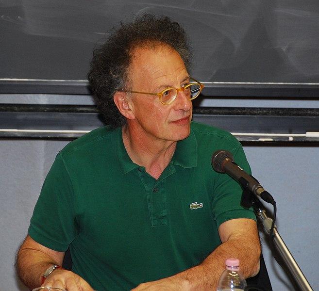 Gherardo Colombo, ex magistrato italiano, durante una conferenza a Trento. Foto di Andreas Carter, CC 2.5