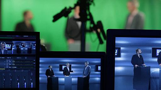 Green screen live streaming production at Mediehuset København