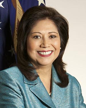 Official portrait of Secretary of Labor Hilda ...