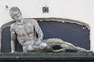 English: The Dying Gladiator Life-sized figure...
