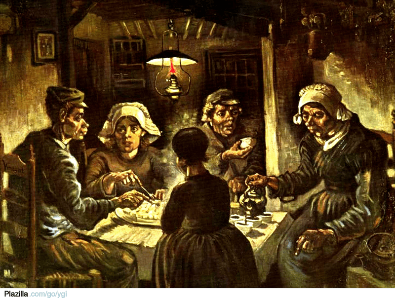 potato eaters van gogh