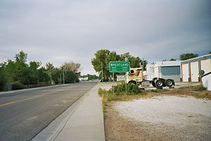 Wheatland city limits