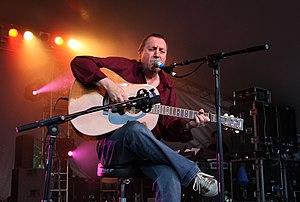 Bert Jansch performing at the Green Man Festival