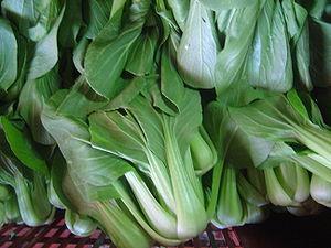 Brassica campestris var. chinensis Unknown veg...