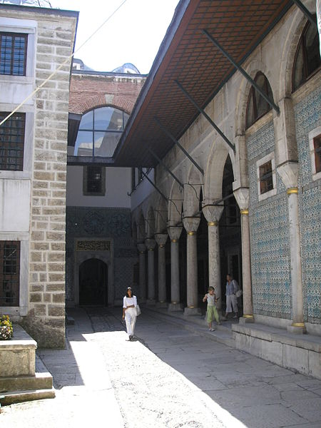 File:Eunuch courtyard Harem Topkapi Istanbul 2007 85.JPG