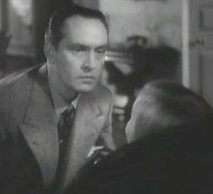 Screenshot of Fredric March from the trailer f...