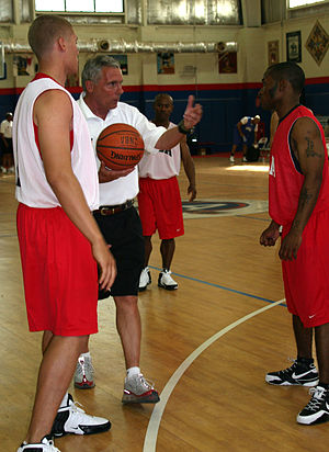 English: Camp Arifjan, KW - Gary Williams, Uni...
