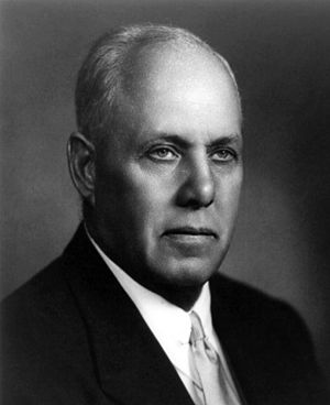 George Meany, American labor activist.
