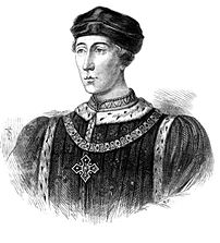 Henry VI depicted in Cassell's