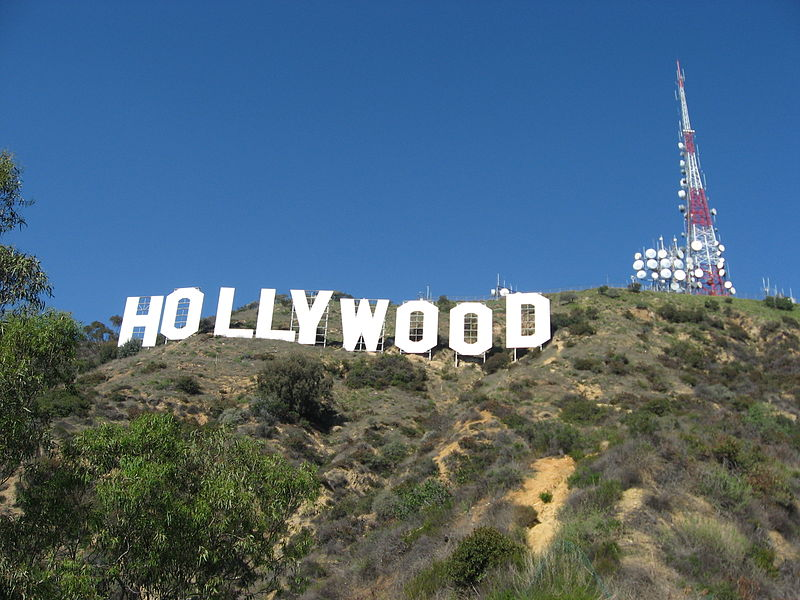 The Hollywood sign is haunted