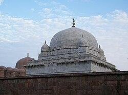 La mezquita Jami de Mandu.