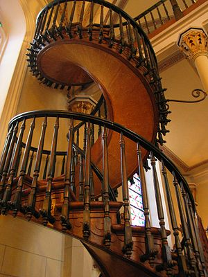 Good There Is No Newel At Loretto Chapelu0027s Spiral ...