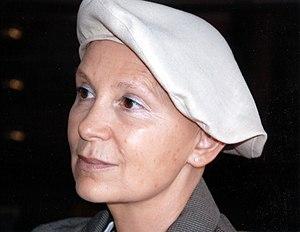 Français : Portrait de Marie-Aude Murail, écri...