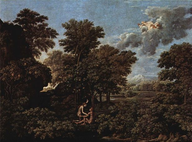 The Four Seasons by Nicolas Poussin