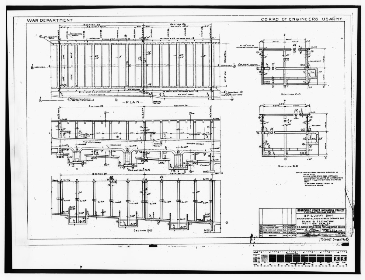 File Photocopy Of Original Construction Drawing 30