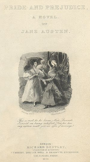 Lady Catherine confronts Elizabeth about Darcy...