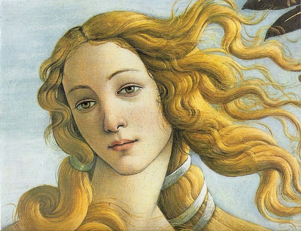 Venus botticelli detail
