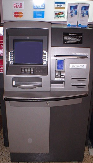 Large image of an ATM Photographed inside a :e...