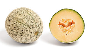 Cantaloupe or rockmelon from Australia and its...