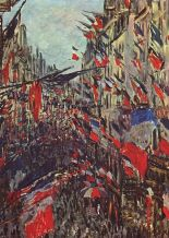 rue saint denis fête nationale - monet