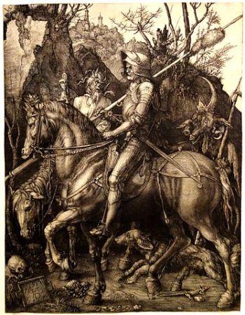 Albrecht Durer's Knight, Death & Devil