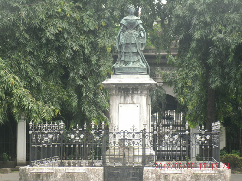 File:Isabella II of Spain in Intramuros, Manila.jpg