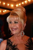 Ivana Trump departs the 10th Annual Angel Ball...