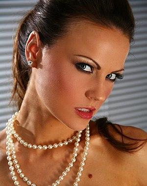 English model Jasmine Sinclair.