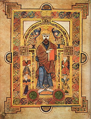 The Book of Kells is one of the most famous ar...
