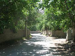 تصویری از ورودی خراشاد