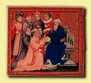 Marco Polo at the Kublai Khan