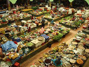 Deutsch: Markt in Kota Bahru