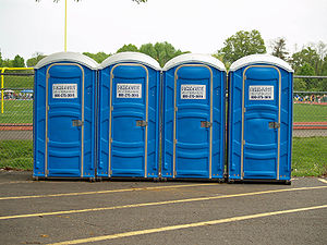 Porta Potty by David Shankbone