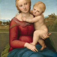 """Small Cowper Madonna"" by Raphael"