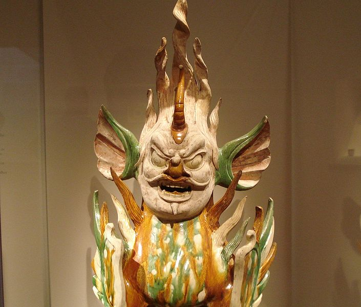 File:Sancai earthenware tomb guardian, Tang Dynasty.jpg
