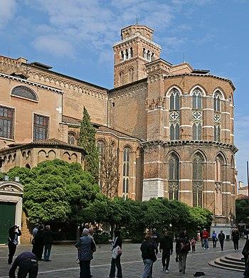 English: Venice – Basilica di Santa Maria Glor...