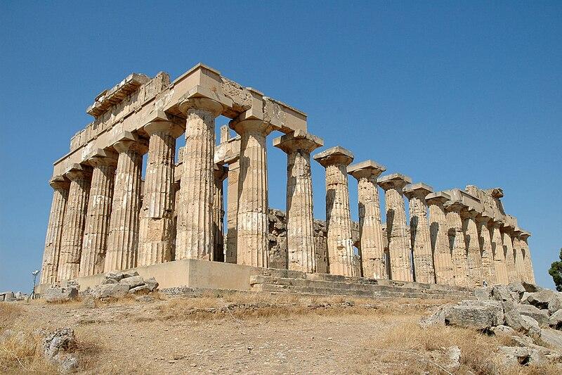 File:Sicily Selinunte Temple E (Hera).JPG
