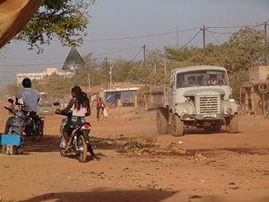 Rue Ouagadougou, Burkina Faso