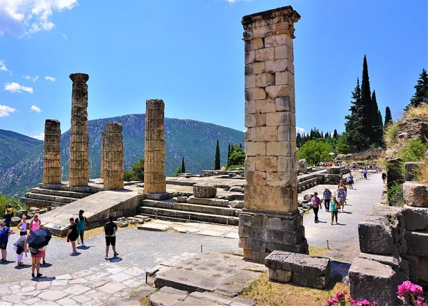 Temple of Apollo (Delphi) by Joy of Museums