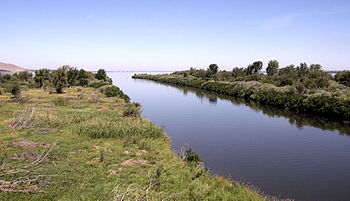 Confluence of the Walla Walla and the Columbia...