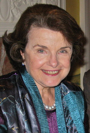 English: Dianne Feinstein, U.S. Senator. Origi...